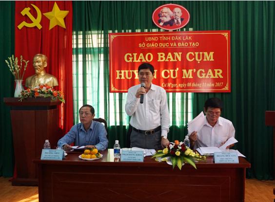 Ông Phạm Đăng Khoa – Giám đốc Sở, phát biểu khai mạc